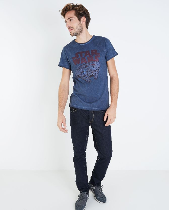 blauw-t-shirt-star-wars
