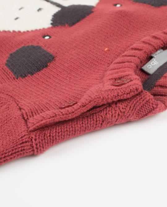 warmroter-strickpullover