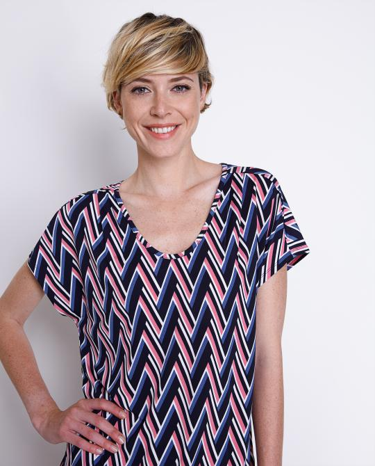 glad-t-shirt-met-zigzagpatroon