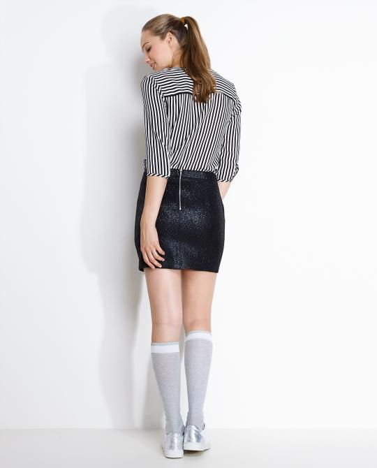 mini-rok-met-metallic-print
