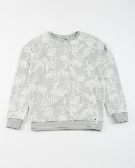 sweat-gris-clair-avec-impression-tropicale
