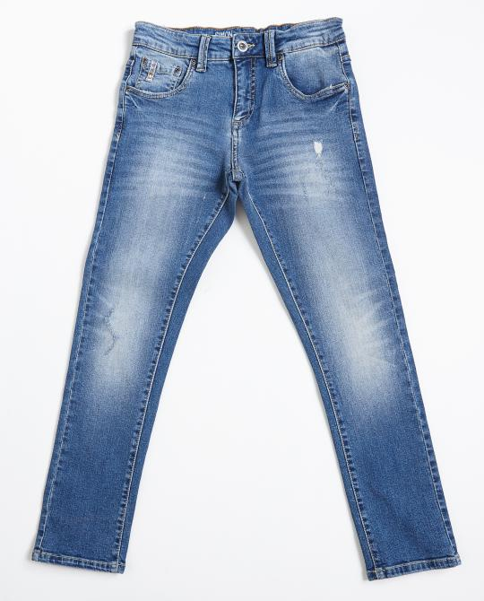 slim-fit-destroyed-jeans