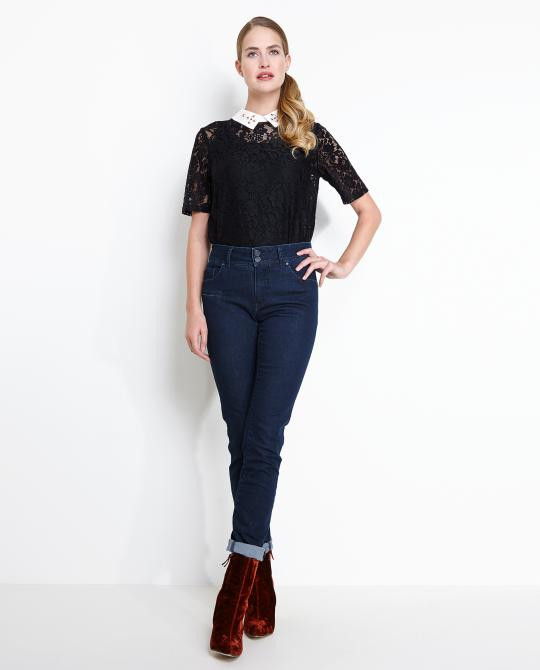 donkere-slim-fit-jeans-met-high-back