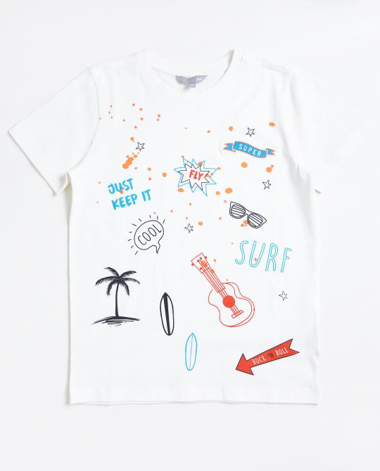 wit-t-shirt-met-surfprint