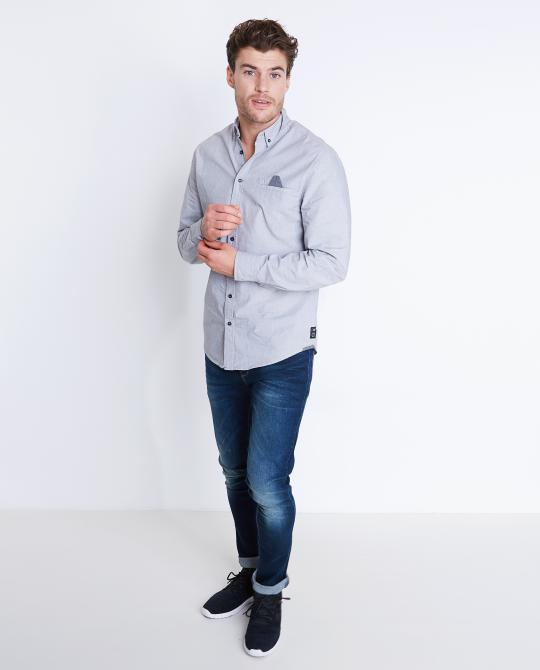 chemise-gris-clair-en-chambray