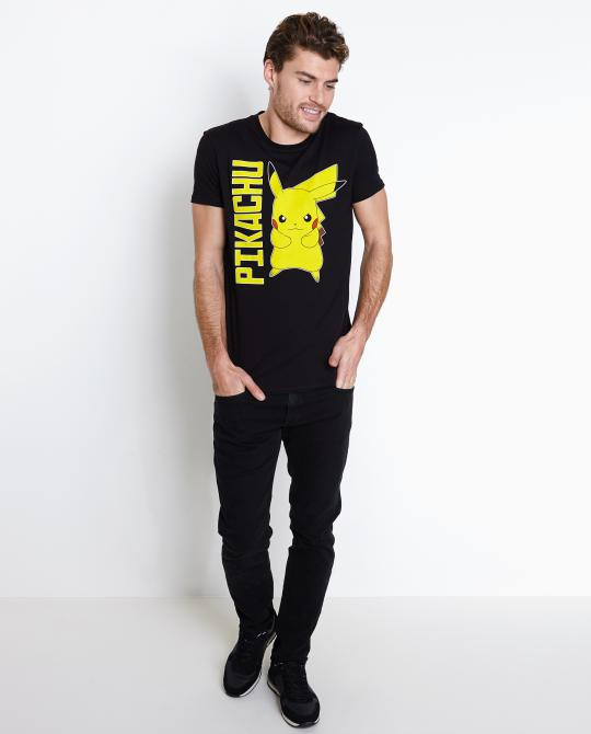zwart-t-shirt-pikachu-pokemon