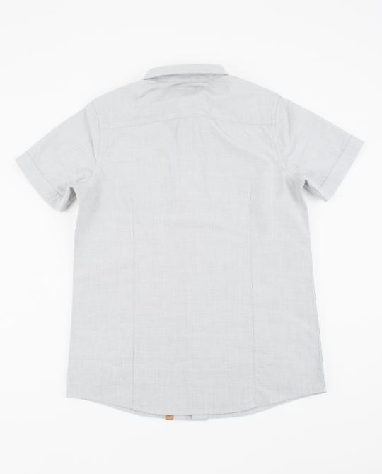 chemise-gris-clair-chambray