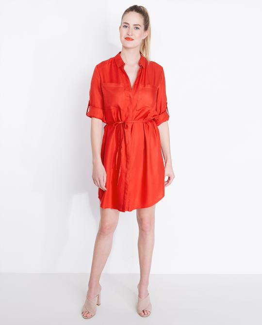 robe-chemisier-rouge