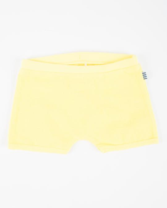 gelbe-frottee-shorts