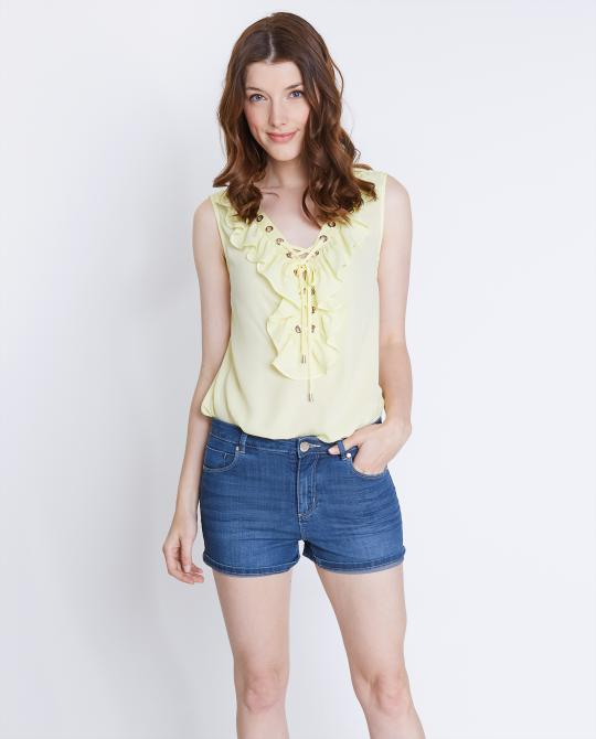 top-lace-up-jaune-pale