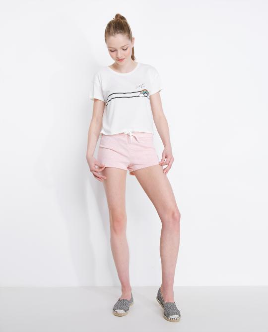 short-molletonne-rose-en-coton-chine
