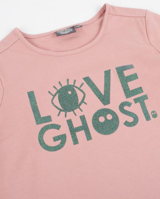 t-shirt-vieux-rose-a-longues-manches-ghost-rockers