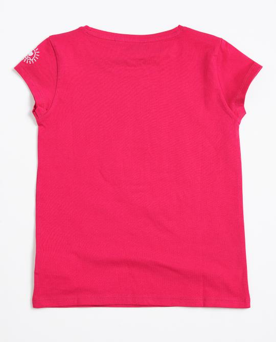 t-shirt-rose-fuchsia-avec-impression-i-am