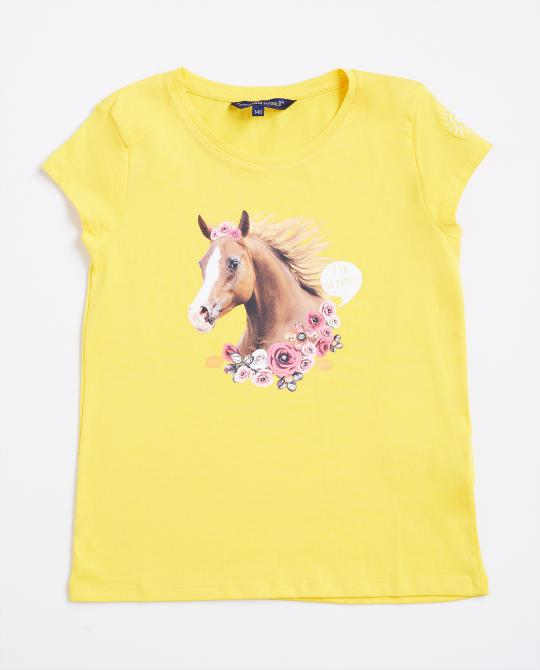 geel-t-shirt-met-paardenprint-i-am