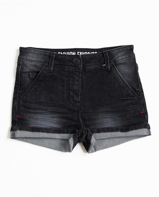 zwarte-washed-jeansshort
