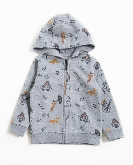 graue-sweatjacke-mit-tier-print