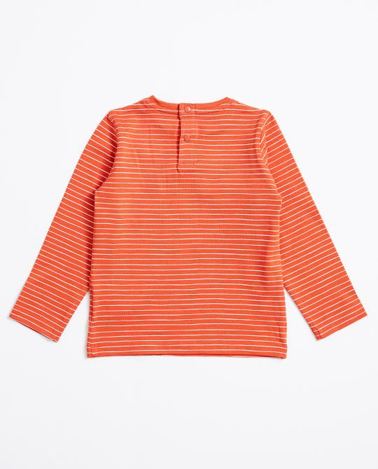 t-shirt-orange-a-longues-manches-besties