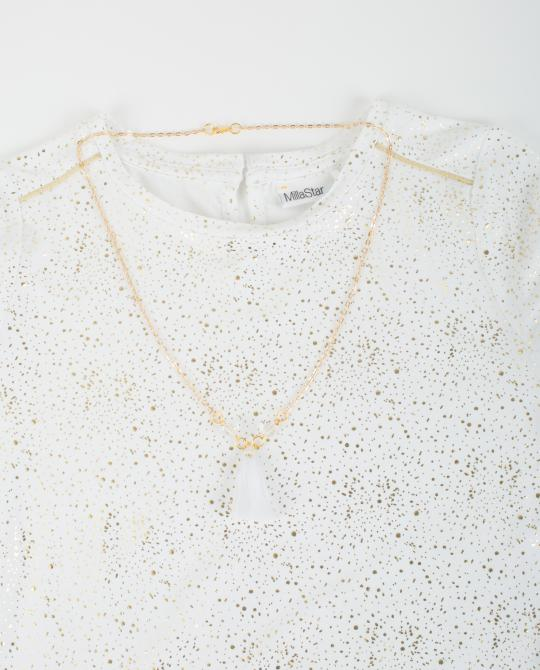 weisses-t-shirt-mit-goldenem-glitzerprint