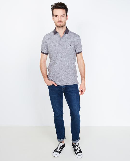 polo-gris-chine-comfort-fit