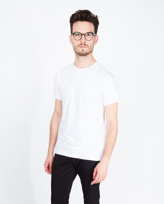 t-shirt-blanc-slim-fit