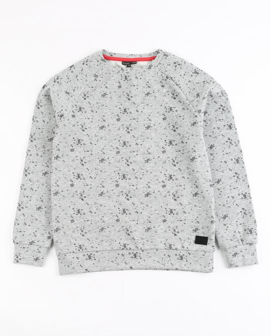 graue-sweater-mit-farbprint