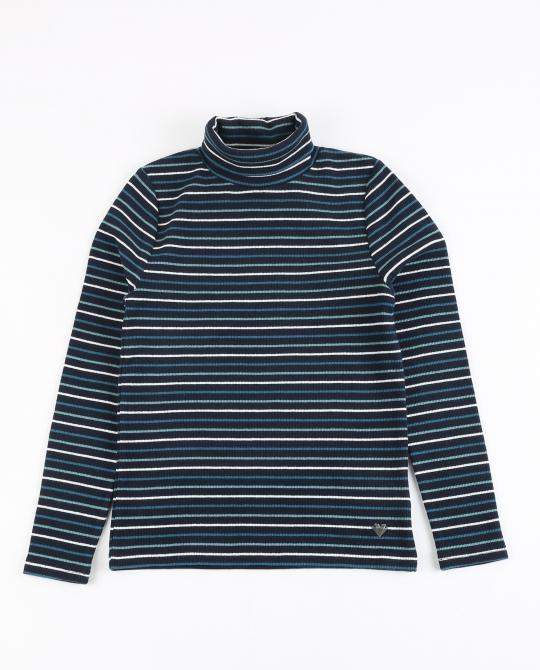 pull-bleu-marine-a-col-roule-et-rayures
