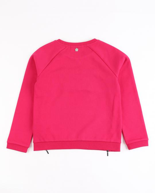 fuchsiaroze-sweater-met-kralen-i-am