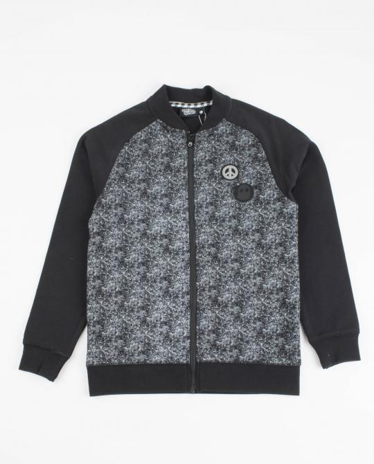 sweatjacke-mit-ghost-rockers-print