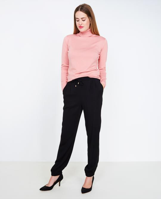 pantalon-noir-souple-soft-rebels