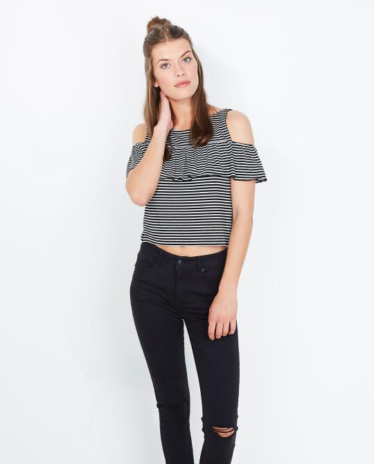 gestreepte-crop-top-met-ruches