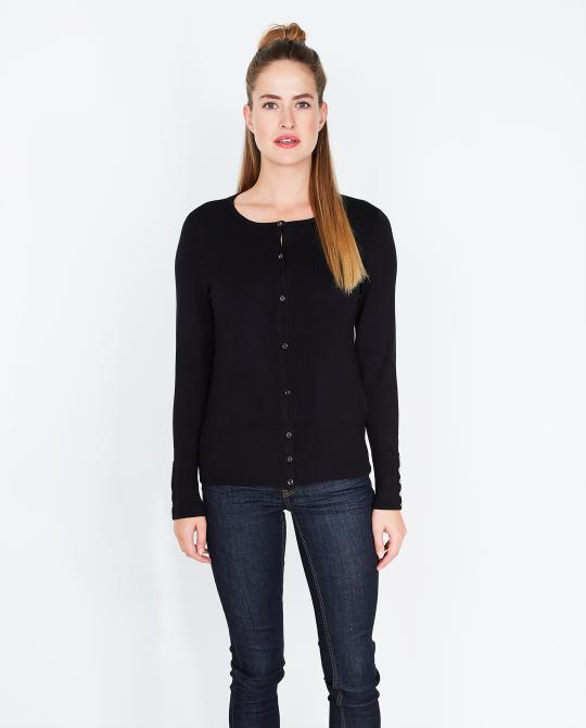 zwarte-basic-cardigan